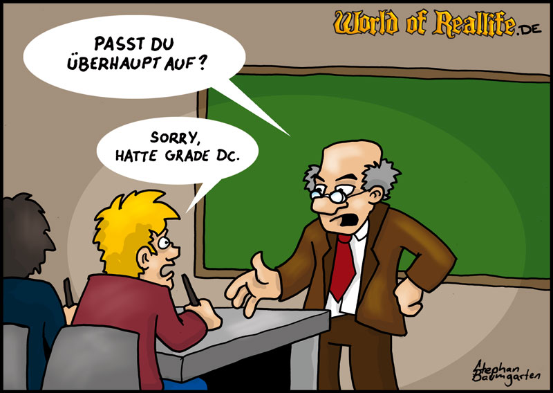 World of Reallife Cartoon 020 DC Stephan Baumgarten Rastafisch