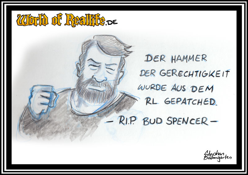 World of Reallife Cartoon 54 Spencer Stephan Baumgarten Rastafisch
