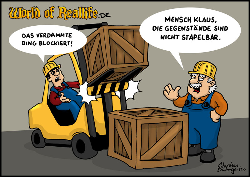 World of Reallife Cartoon 57 Stapel Stephan Baumgarten Rastafisch
