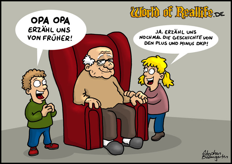 World of Reallife Cartoon 70 dkpopa Stephan Baumgarten Rastafisch