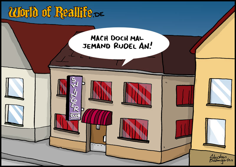 World of Reallife Cartoon 71 Rudel Stephan Baumgarten Rastafisch